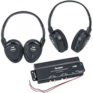 Power Acoustik Farenheit HP-902 RFT – Two headphones in one pack