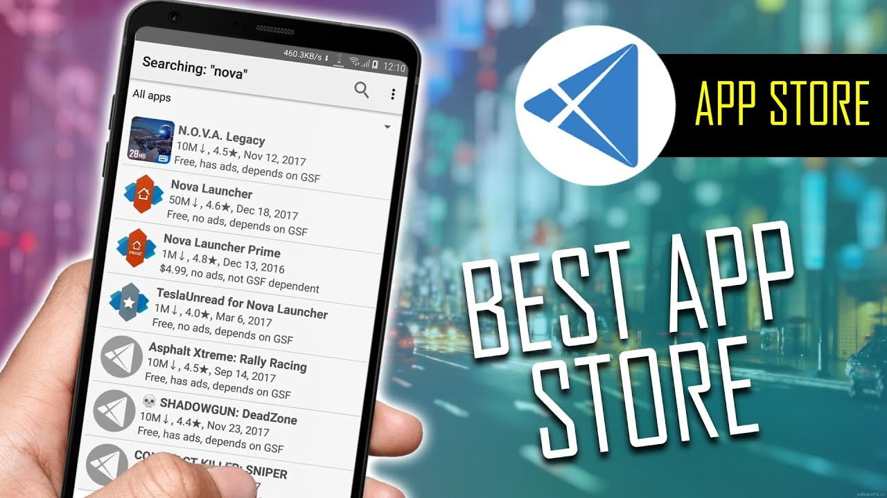 Top Five alternative app stores- Download third-party app