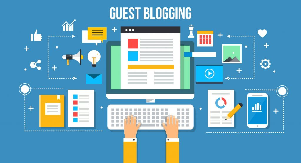 Use guest blogging